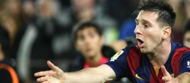 Messi, el crack del F.C. Barcelona