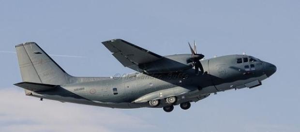 Schianto di un aereo militare indonesiano