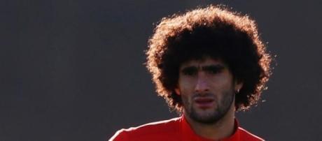 Fellaini est déjà prêt à battre Chelsea.