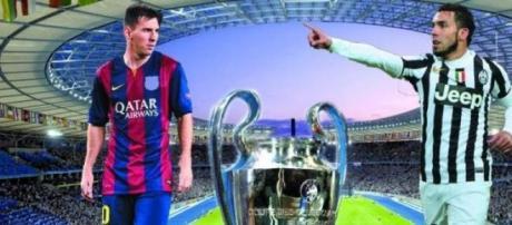 La Champions Legue ¿Será de Tévez o de Messi?