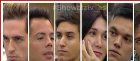 Valerian, Matías, Brian, Solano, Mariano y Eloy