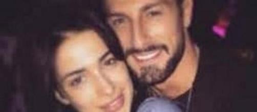 Amedeo Andreozzi con la fidanzata Alessia Messina