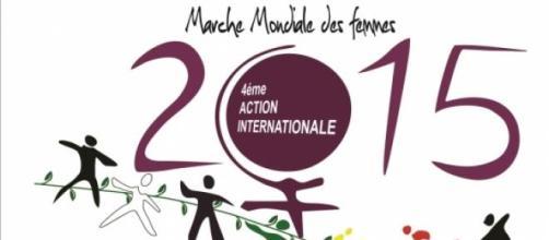 Arrivée de la Marche Mondiale des Femmes en France