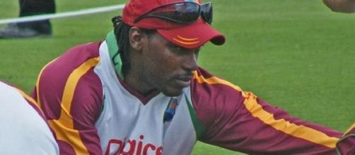Big impact at Somerset by Chris Gayle so far