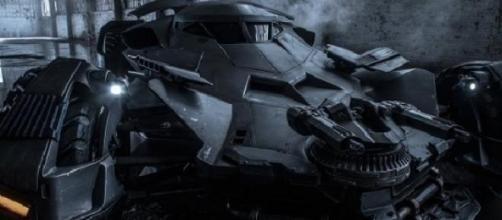 El nuevo aspecto del Batmobile
