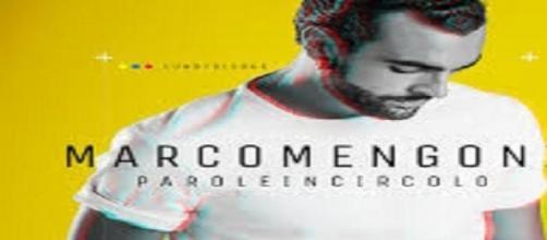 Il cantante Marco Mengoni.