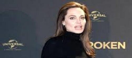 L'attrice americana Angelina Jolie.