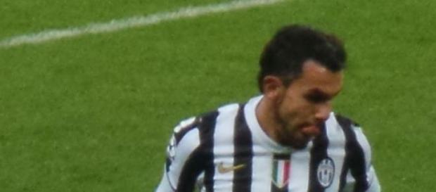 Carlos Tévez, uno de los líderes de la Juventus