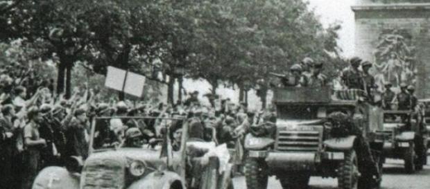 Entrada en Paris de 'La Nueve' en agosto de 1944