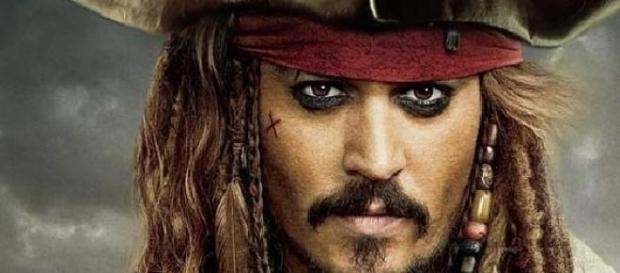 Johnny Depp interpreta al mítico Jack Sparrow