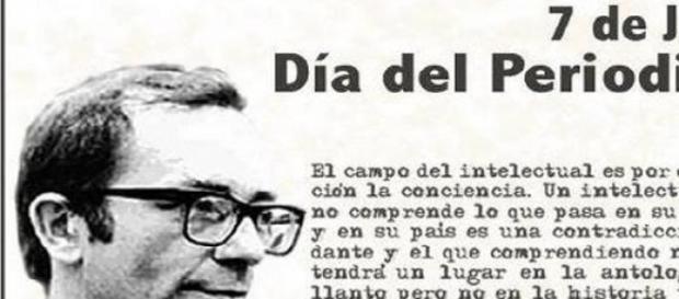 Rodolfo Walsh símbolo nacional del periodismo