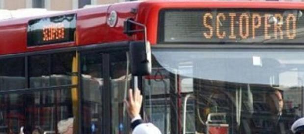 Sciopero trasporti pubblici a Roma