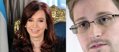 Cristina y Snowden tuvieron una reunión secreta