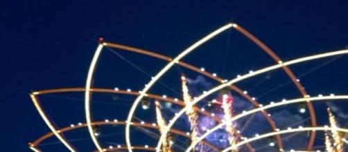 Expo 2015 - Albero della vita by night