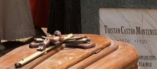 Il funerale di Tristan Castro