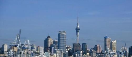 La ciudad de Auckland, Nueva Zelanda.