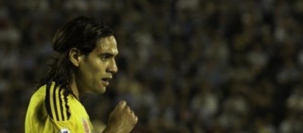 Falcao con la selección colombiana