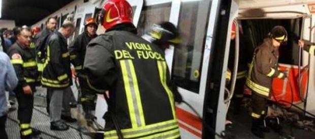 Incidente alla metro di Roma