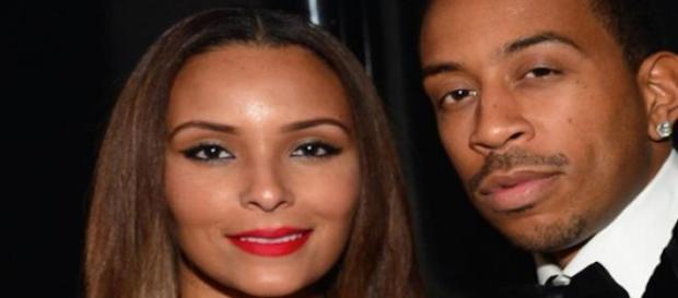 Ludacris et son femme Eudoxie.
