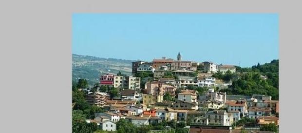 Panorama di Ponte provincia di Benevento