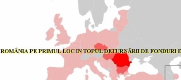 Romania a deturnat cele mai multe fonduri UE