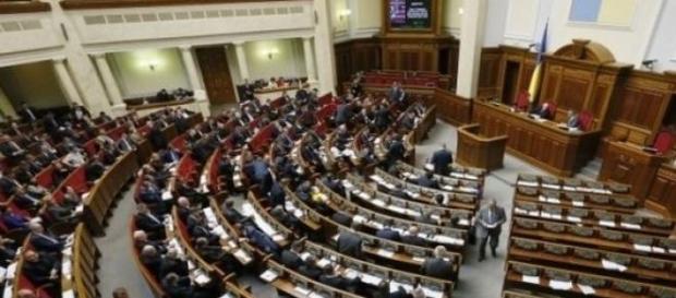 Ukraiński parlament w Kijowie