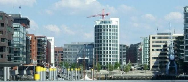 Hamburg - centrum miasta, okolice portowe