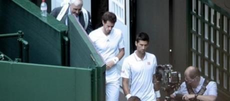 Murray v Djokovic - part 2 resumes on Saturday