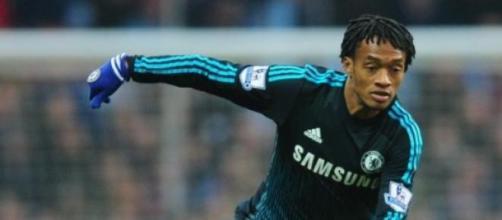 Cuadrado in maglia Chelsea