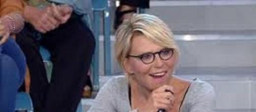 La presentatrice di Amici Maria De Filippi.