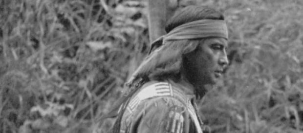Baron Pierre Louis de Bris als Winnetou in Elspe