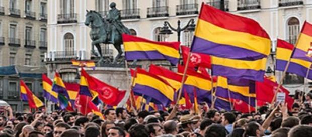 Manifestación republicana en Madrid