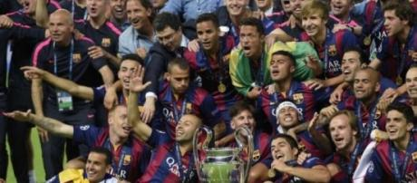 Barcelona campeón de la Champions League 2015