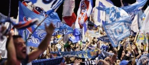 Tifosi del Napoli in festa