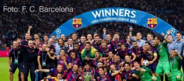 Barcelona campeón de la Champions League