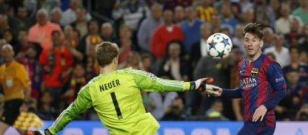 El gran gol de Messi ante el Bayern en semifinales