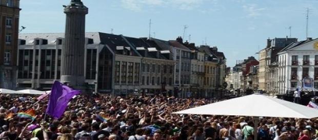 La marche des fiertés de Lille