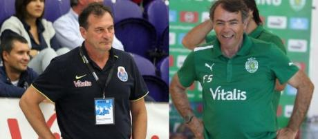 Ljubomir Obradovic e Frederico Santos