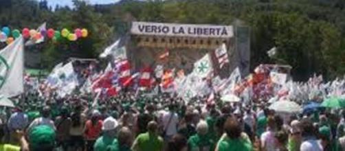 Manifestazione della Lega Nord