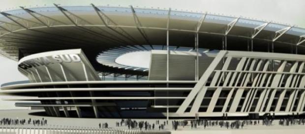 Il progetto del nuovo stadio della A.S.Roma