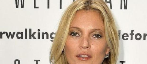 Kate Moss foi expulsa de avião