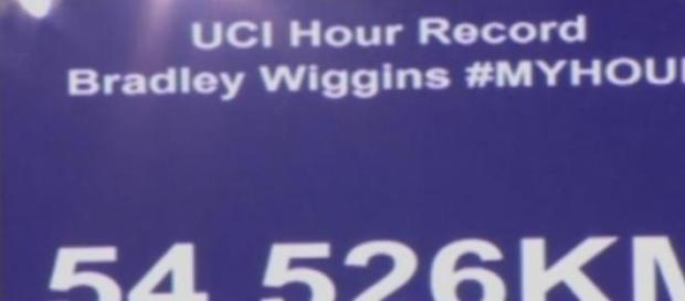 Le nouveau record de l'heure de Wiggins