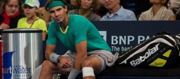 Nadal has been sliding down the rankings