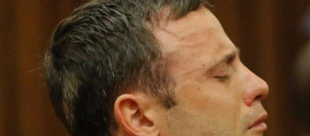 Pistorius cuando le dictaron sentencia