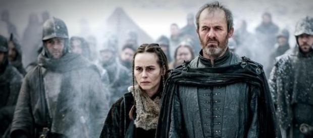 Stannis Baratheon y Selyse Baratheon