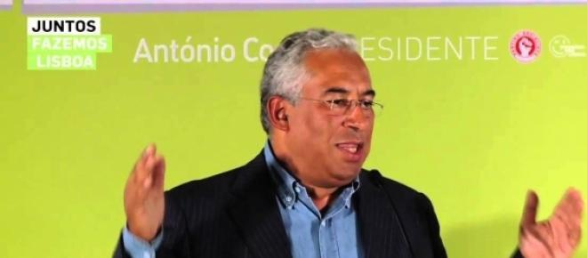 António Costa quer ser o próximo primeiro-ministro