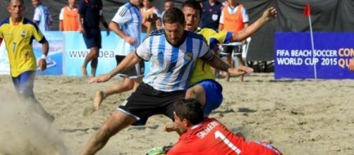 Argentina jugará el Mundial de Fútbol Playa 2015.