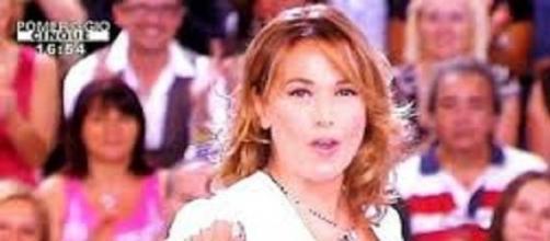 Barbara D'Urso, presentatrice di Pomeriggio 5.