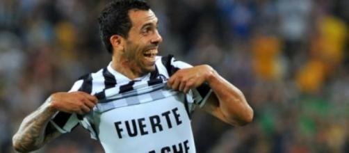 Carlos Tevez, 29 reti in stagione con la Juventus