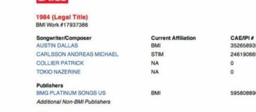 Katy registró 1984 como su nueva canción